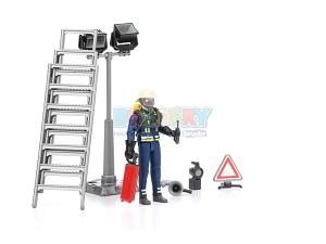 figurka strażaka