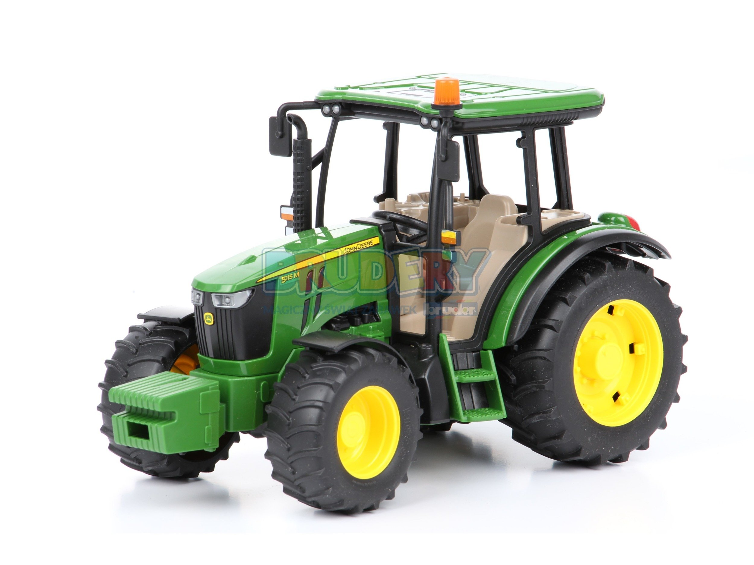 bruder 02106 traktor john deere zabawki dla ch opc w brudery. Black Bedroom Furniture Sets. Home Design Ideas