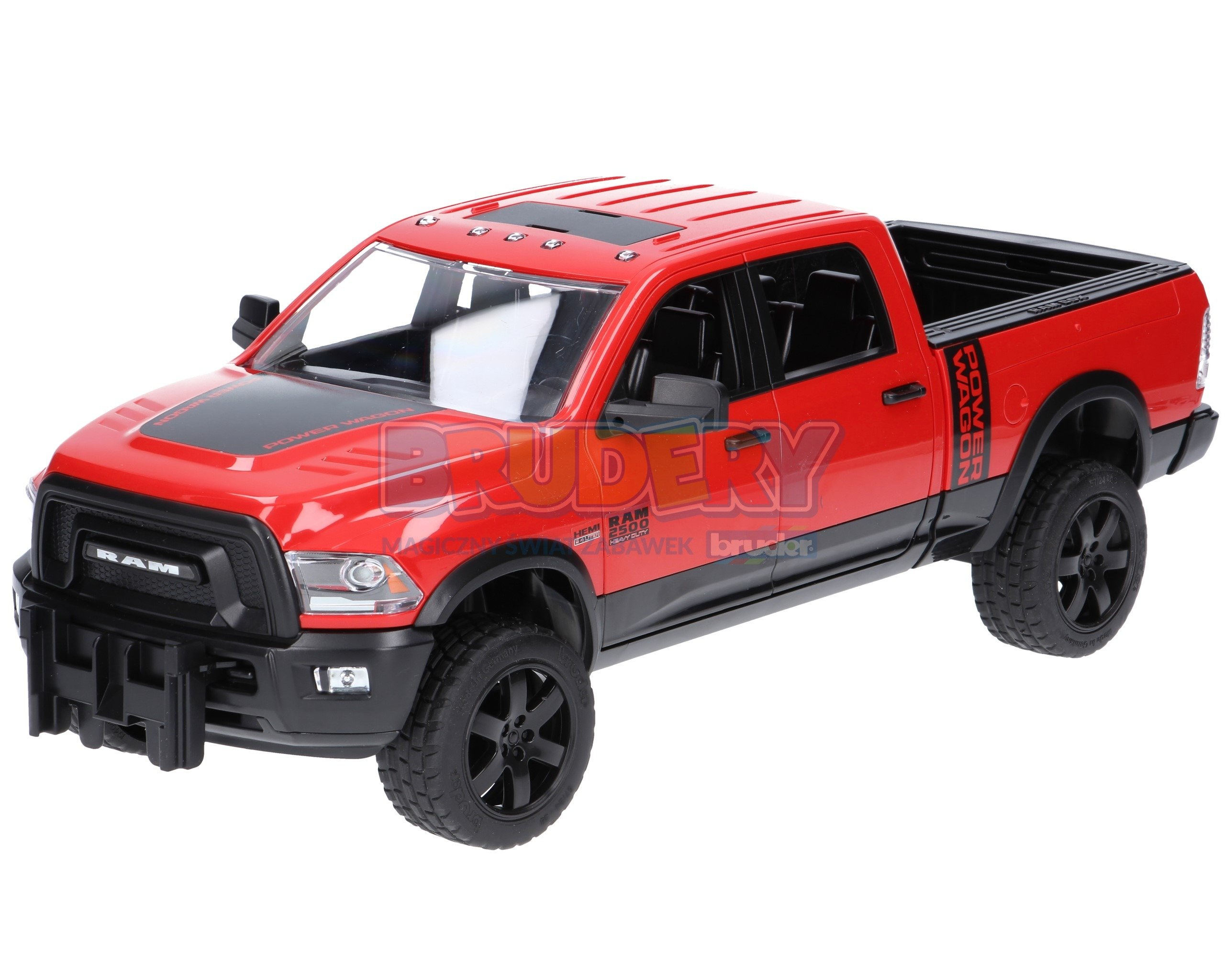 bruder 02500 pick up ram 2500 power wagon zabawki dla. Black Bedroom Furniture Sets. Home Design Ideas