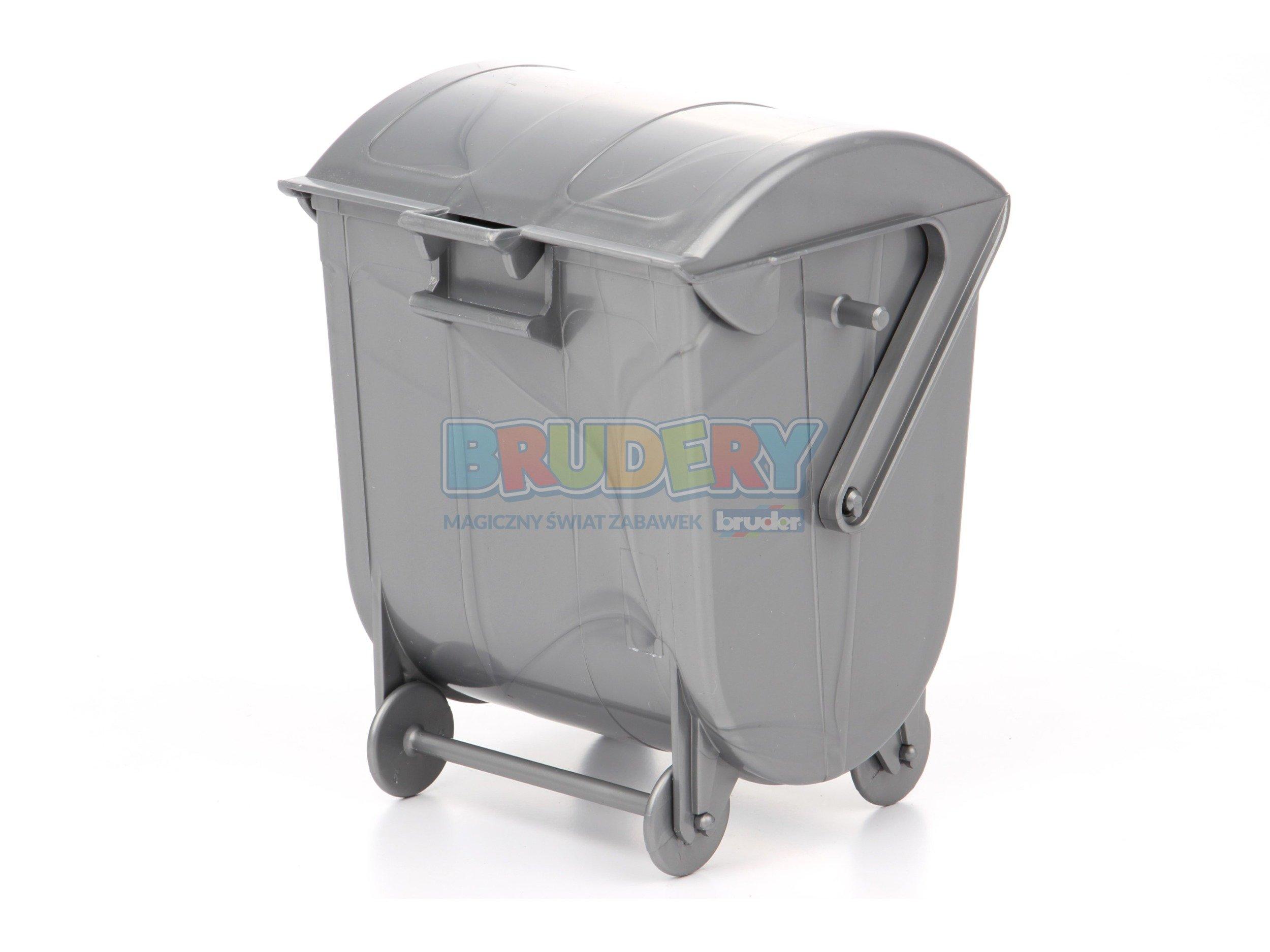 Inne rodzaje Bruder 42637 pojemnik na śmieci duży | Zabawki dla chłopców Brudery KO78